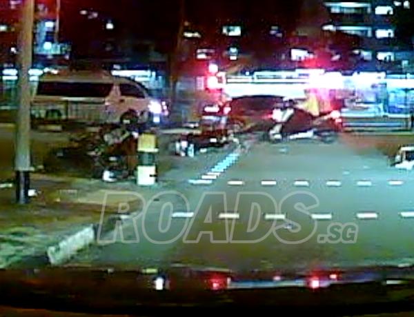 Accident at CTE
