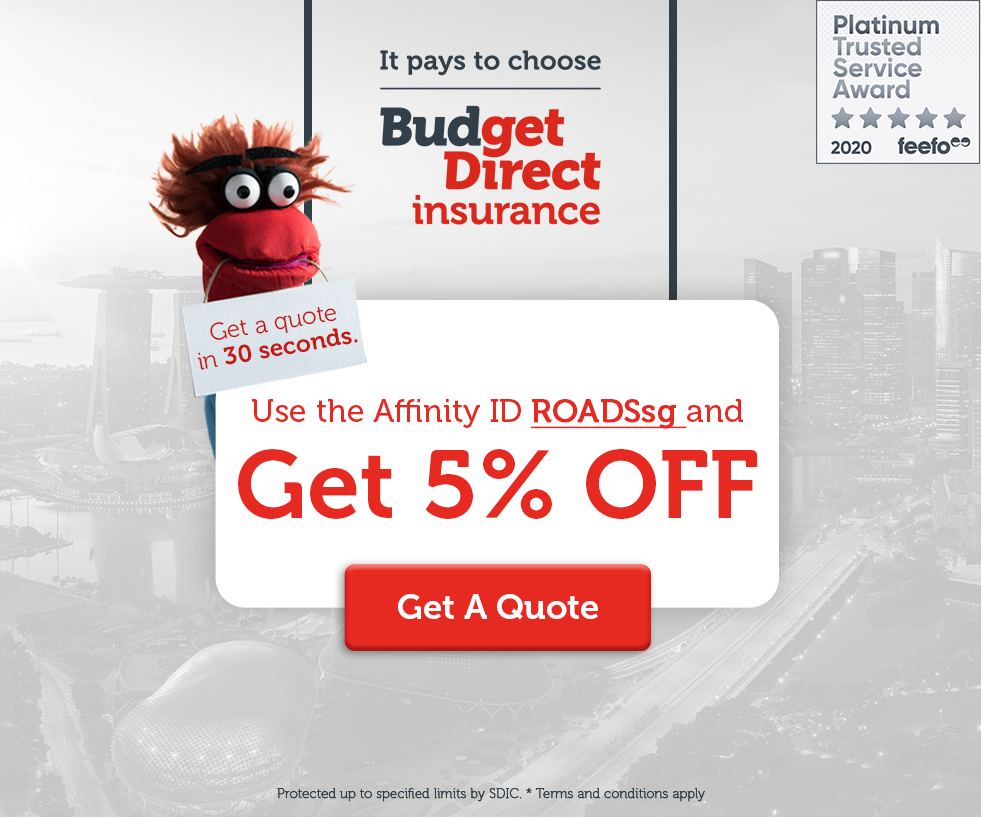 Get 5% Off for Motor Insurance with Budget Direct